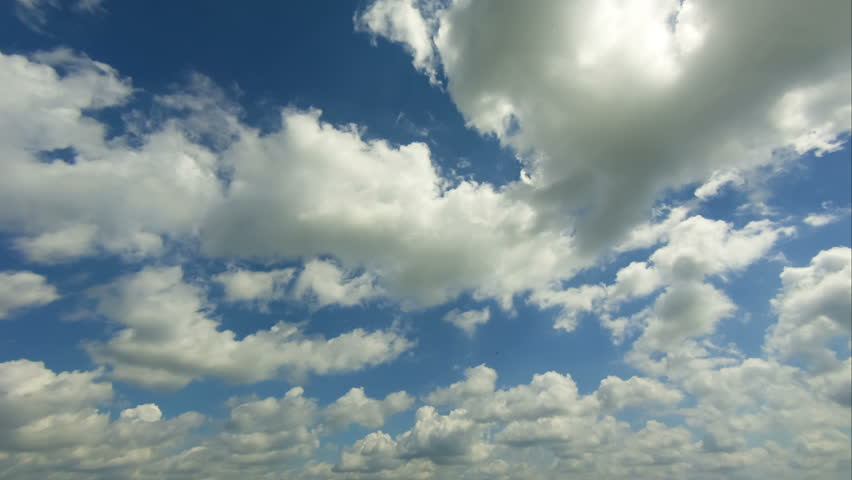 Clouds Moving in the Blue Sky | Shutterstock HD Video #16665352