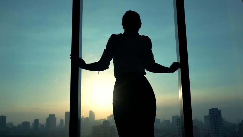 Happy businesswoman dancing in the office, slow motion 240fps  | Shutterstock HD Video #16666360