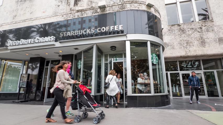 Starbucks Coffee Miami Beach