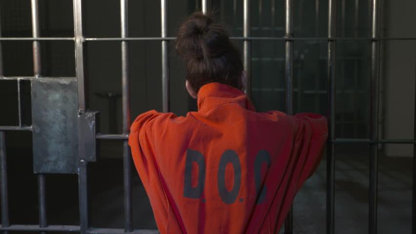 Brilliant Women39s Orange Prison Jumpsuit  WomanInmate ManGuard