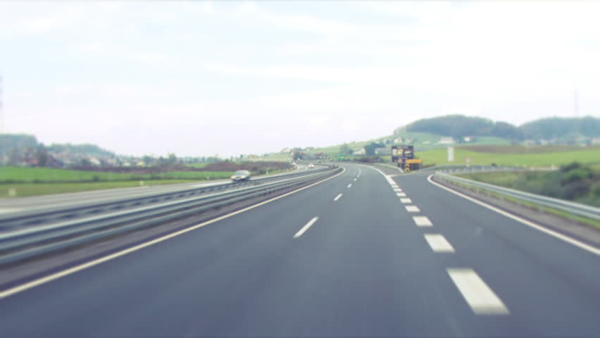 3D Animated Road. Curved. Stock Footage Video 632113 ...