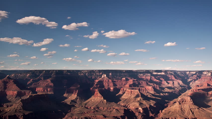 Timelapse over the Grand Canyon