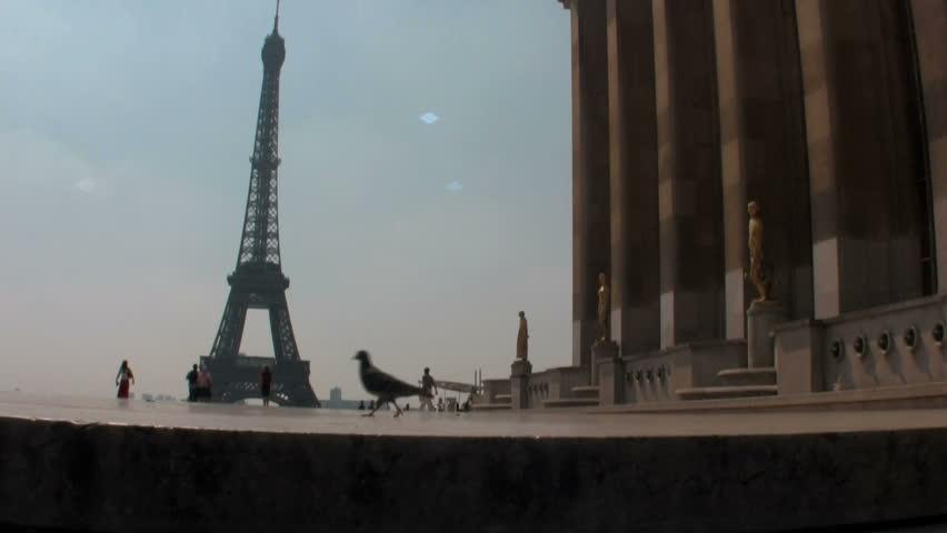 PARIS - CIRCA 2006: shot of the Eiffel Tower circa 2006 in Paris. | Shutterstock HD Video #1708486