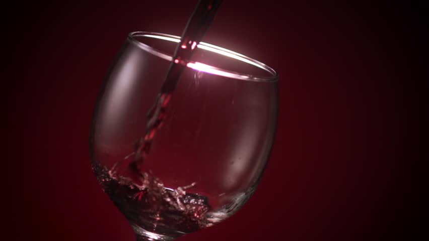 Ice Into Cranberry Juice, Slow Motion Stock Footage video 4553351 - Shutterstock