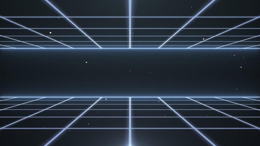 Retro futuristic,Seamless loop. | Shutterstock HD Video #17223361