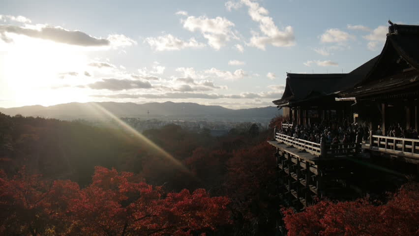Temple Japan Travel - HD stock video clip