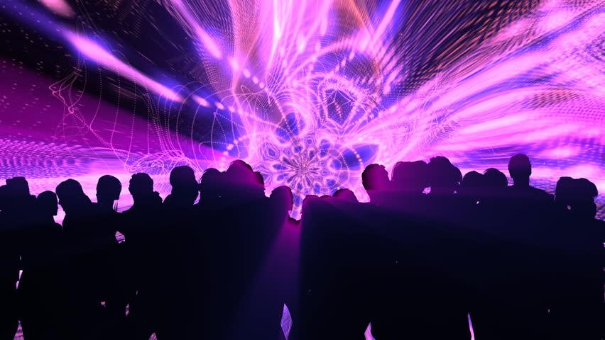 People Dancing In Night Club Stock Footage Video 1740004 ...