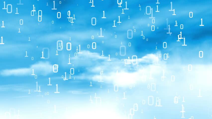Data Cloud Server IT Technology - HD stock video clip
