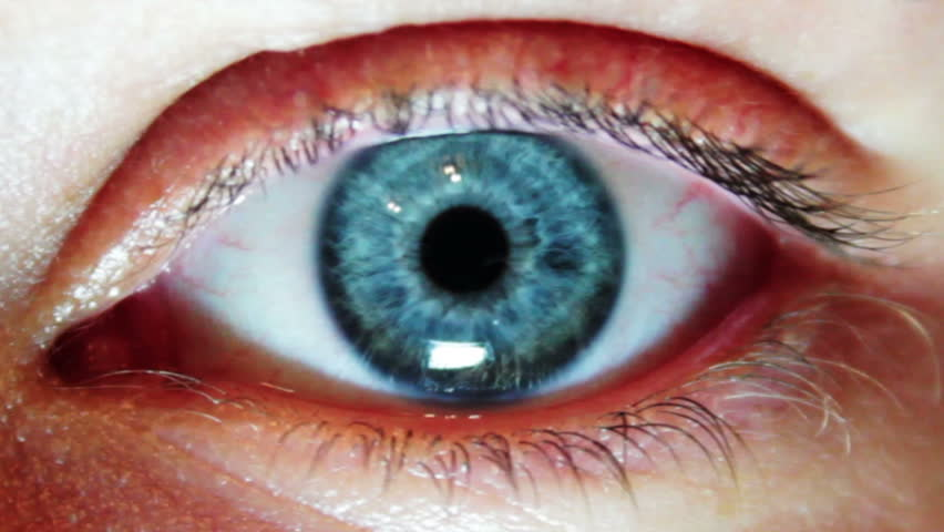 Man's Eyes Close-up - HD stock footage clip