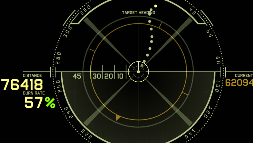 17 on marine radar screen