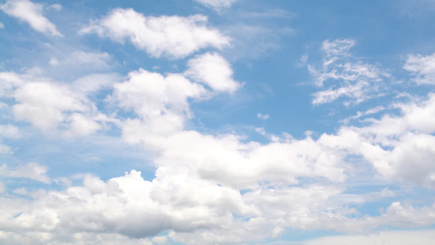 The clear sky with a cloud | Shutterstock HD Video #17895895