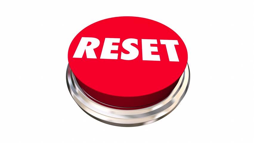 Reset Start Over Fresh Change New Beginning Button 3d Animation | Shutterstock HD Video #17896642