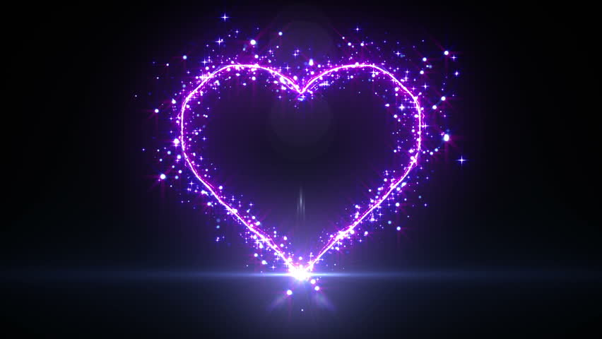 purple hearts and stars background wwwimgkidcom the