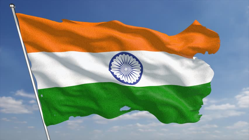 For Indian Flag Hd Animation