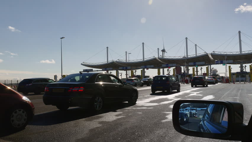 Cars On Line >> Eurotunnel Footage | Stock Clips