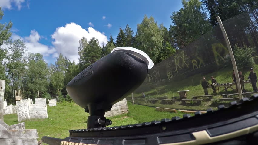 Paintball first-person view | Shutterstock HD Video #18221785