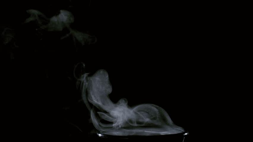 Coffee Steam rising, Slow Motion