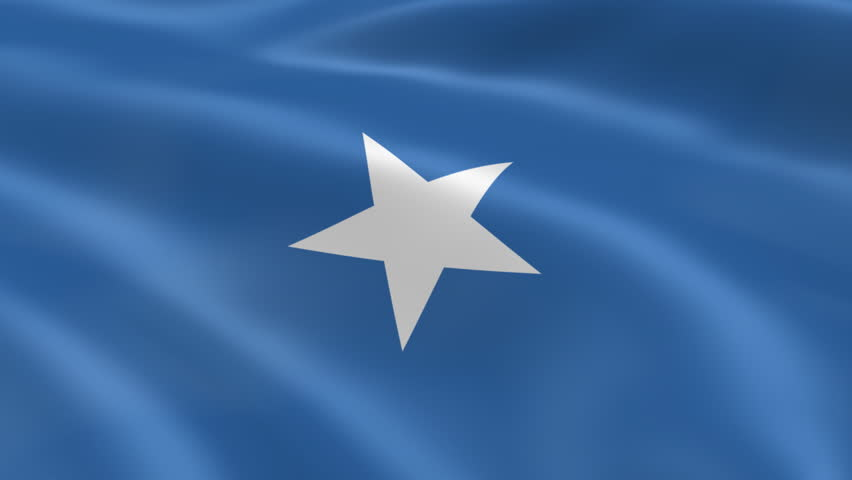Flying Flag Of SOMALIA | LOOPED | Stock Footage Video 742066 - Shutterstock