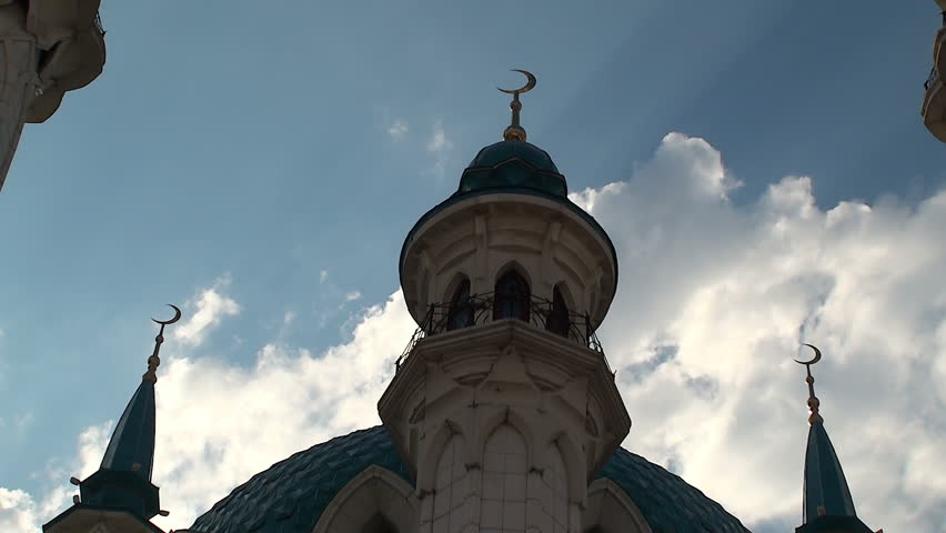 The Kazan mosque Kul Sharif - HD stock footage clip