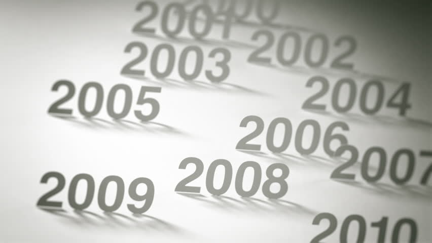 Simple Timeline Concept Animation: 2000s and 2010s