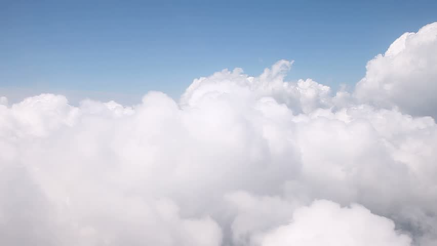 Flying through clouds stock footage video 1909615 shutterstock