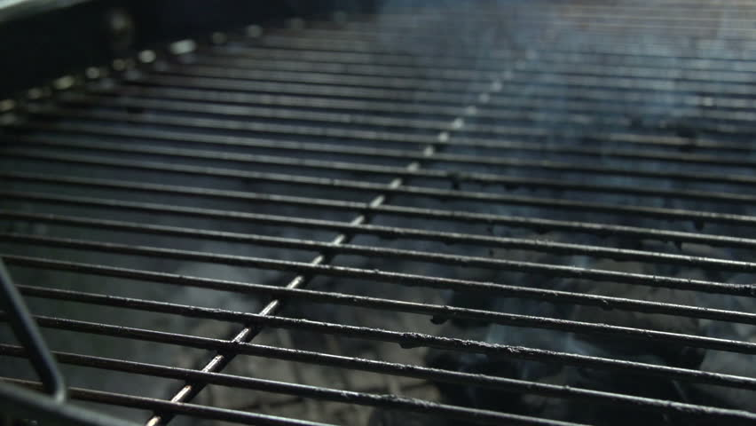 Charcoal BBQ In Action. Waiting For The Charcoal To Burn White And Ready To Cook Upon. | Shutterstock HD Video #19334464