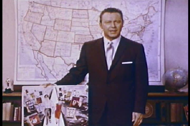 Reporter George Putnam suggests six ways that viewers might begin to combat obscene materials being sold in their communities in 1965. (1960s)