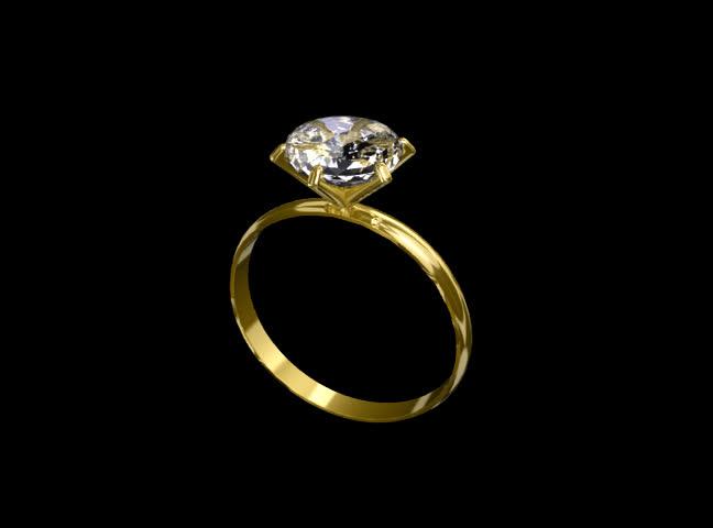 Twirling diamond ring - SD stock video clip