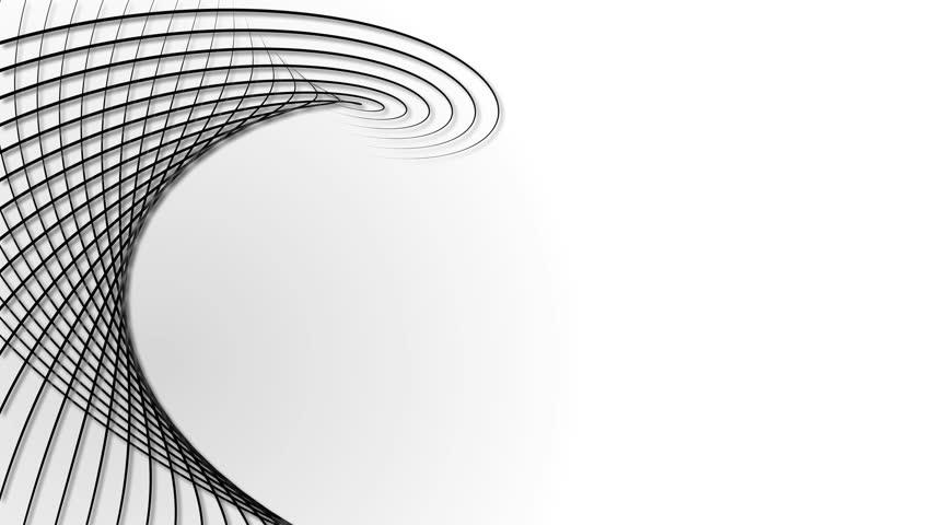 Wavy border lines white background | Shutterstock HD Video #19710574