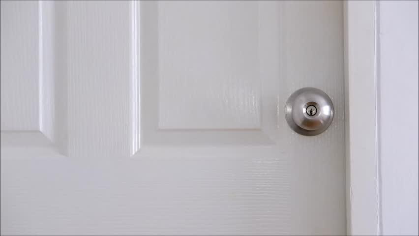 Knocking on door stock footage video shutterstock for Door knocking sound
