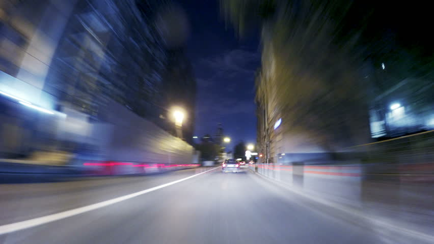 Night road POV around the Kremlin at night timelapse   Shutterstock HD Video #20579722