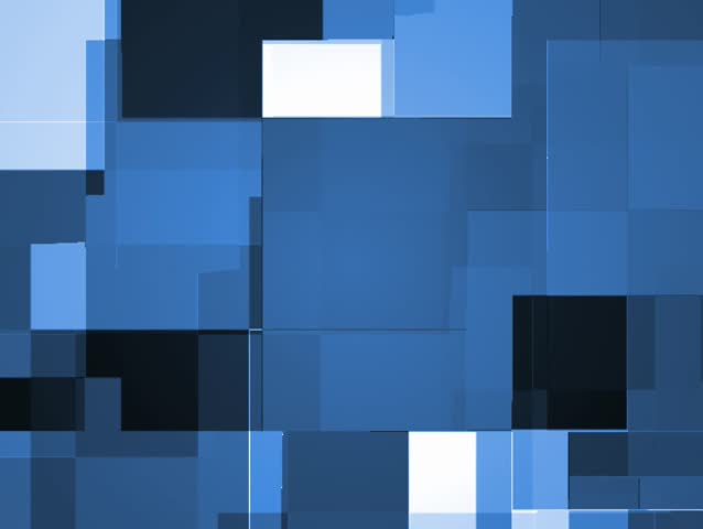 Pulsing and ebbing rectangular blocks, a perfect high tech background. Visit my gallery for many more options! - SD stock footage clip