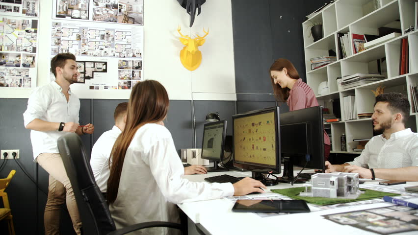 Creative Group Working Designing Concept 20s 4k. | Shutterstock HD Video #20730877