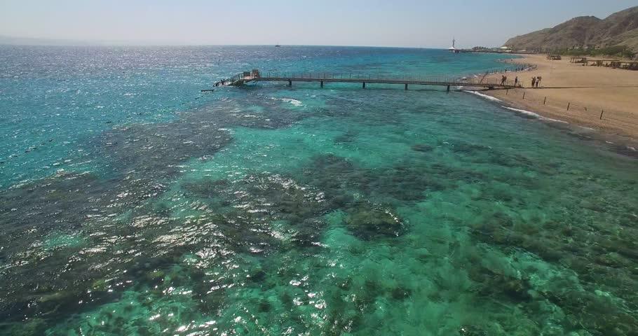 Bridge views of sea coral | Shutterstock HD Video #20969314