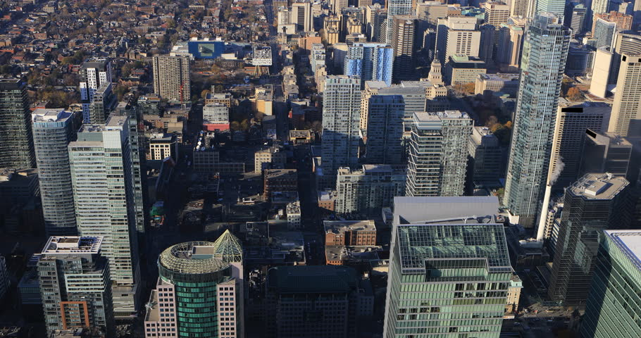 4K UltraHD Aerial view over Toronto | Shutterstock HD Video #21398749