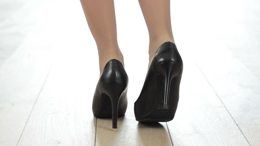 High Heels Legs Stock Footage Video - Shutterstock