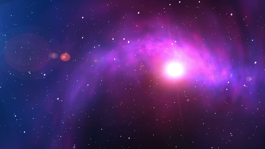 beautiful space backgrounds. Journey through the universe. - HD stock footage clip