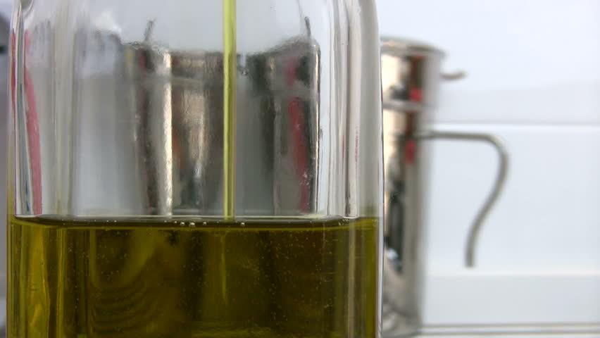 Olive oil - HD stock video clip