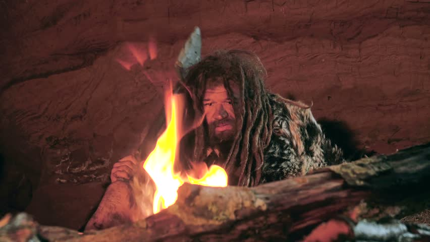 Caveman Stock Footage Video - Shutterstock - 34.2KB