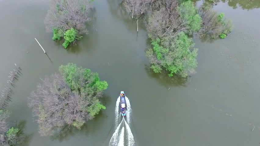 Aerial view boat | Shutterstock HD Video #21926482