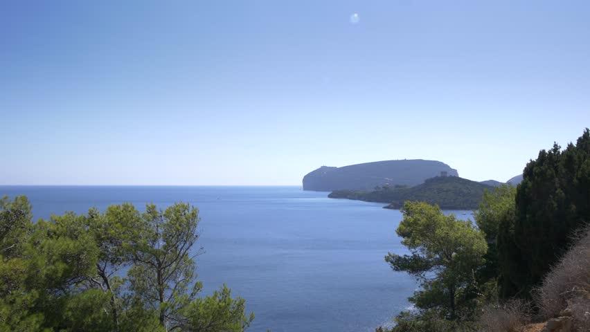 Beautiful coastline of Sardinia in UHD.    Shutterstock HD Video #22143004