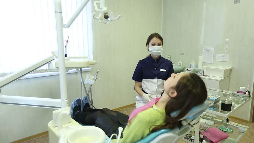 Close-up of a teeth treatment at the dentistry | Shutterstock HD Video #22415443
