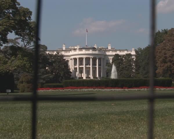 PAL: White House - rotunda side - SD stock footage clip