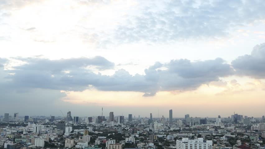 City Sunset Timelapse | Shutterstock HD Video #22595605