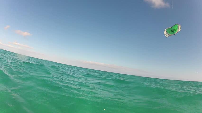 Kiteboarding Board Low View Left Side 1