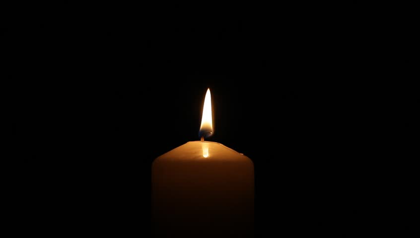 Candle on black background | Shutterstock HD Video #22637122