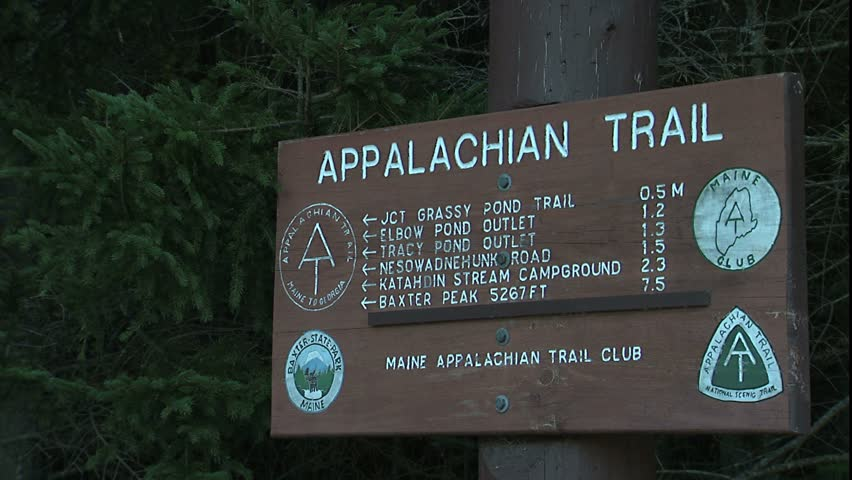 Main Trail Sign Stock Footage Video 1681177 - Shutterstock