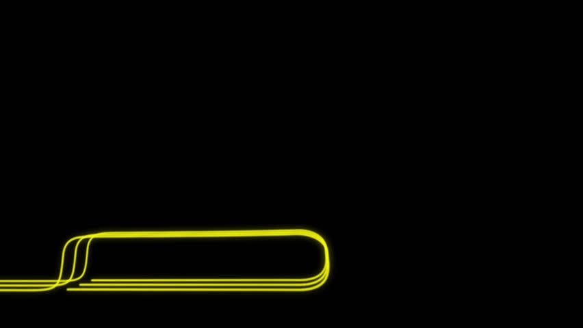 Neon Lines Lower Third 21 + Alpha Channel | Shutterstock HD Video #23041654