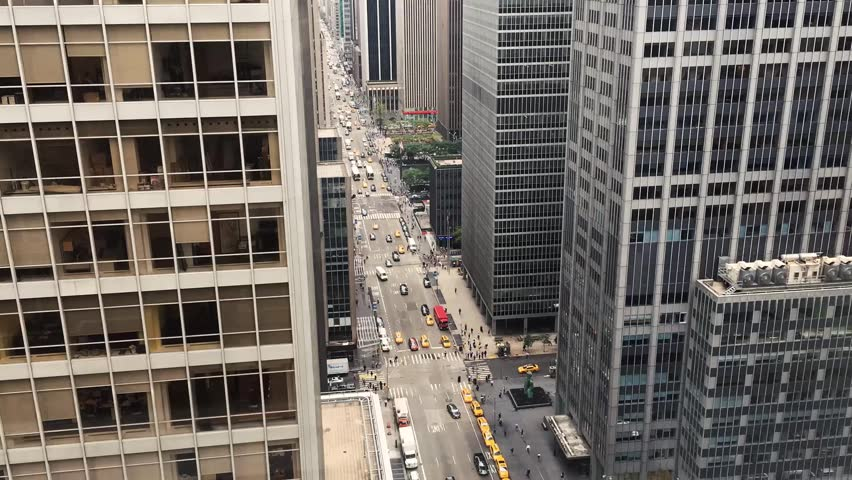 Traffic jam growing in Manhattan New York   Shutterstock HD Video #23124643