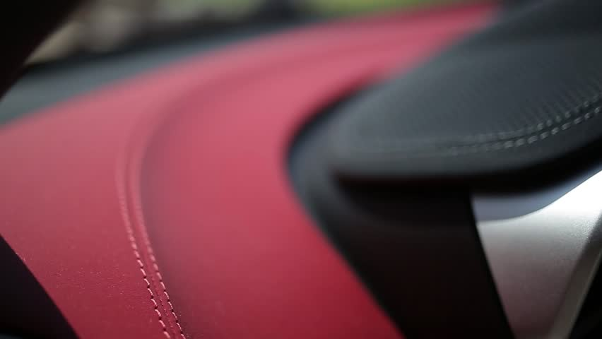 Eather interior of a sports car | Shutterstock HD Video #23164243